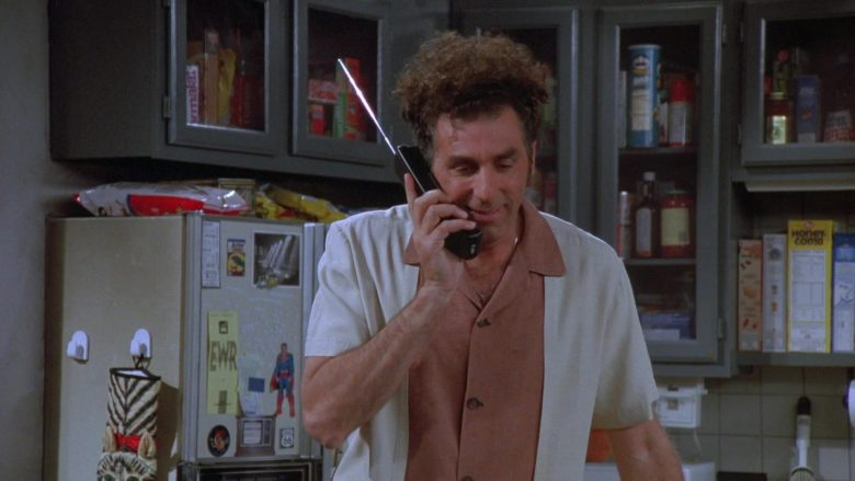 AT&T Telephone Used by Michael Richards as Cosmo Kramer in Seinfeld Season 7 Episode 8 (2)