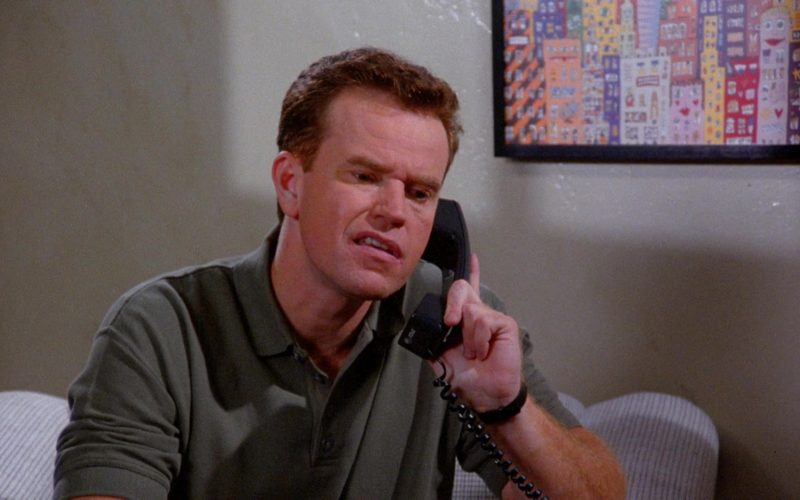 AT&T Telephone in Seinfeld Season 6 Episode 7 The Soup