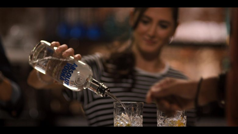 Absolut Vodka Bottle in The L Word Generation Q Season 1 Episode 4 LA Times