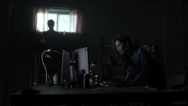 Alienware Laptop and Monitor Used by Teddy Moynihan as Jergen Weber and Jacky Lai as Kaylee Vo in V Wars (3)