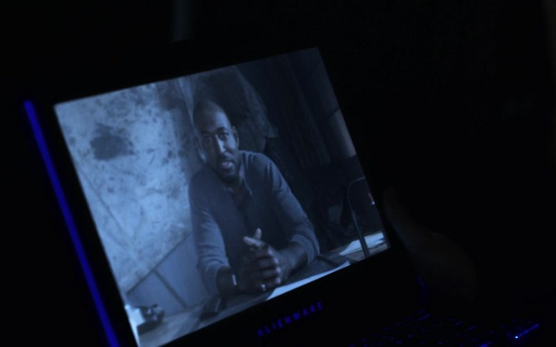 Alienware Notebook in V Wars Season 1 Episode 5 Cold Cold Ground