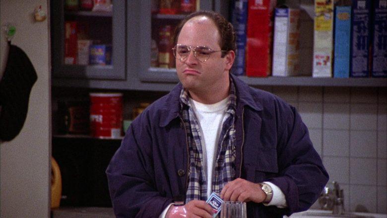 Alka-Seltzer Held by Jason Alexander as George Costanza in Seinfeld Season 2 Episode 4 (1)
