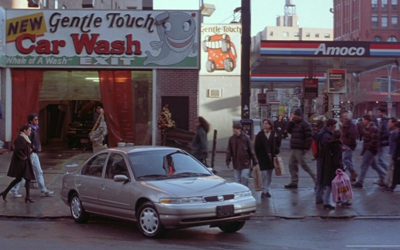 Amoco Gas Station in Seinfeld Season 7 Episode 12 The Caddy