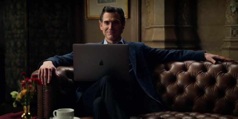 Apple MacBook Laptop Used by Billy Crudup as Cory Ellison in The Morning Show Season 1 Episode 9 Play the Queen (2)