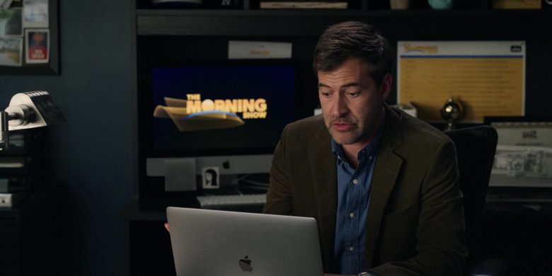 Apple MacBook Laptop Used by Mark Duplass as Chip and iMac Computer in The Morning Show Season 1 Episode 8