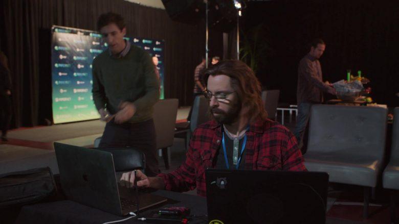 Apple MacBook Laptop Used by Martin Starr as Bertram Gilfoyle in Silicon Valley Season 6 Episode 7 (1)