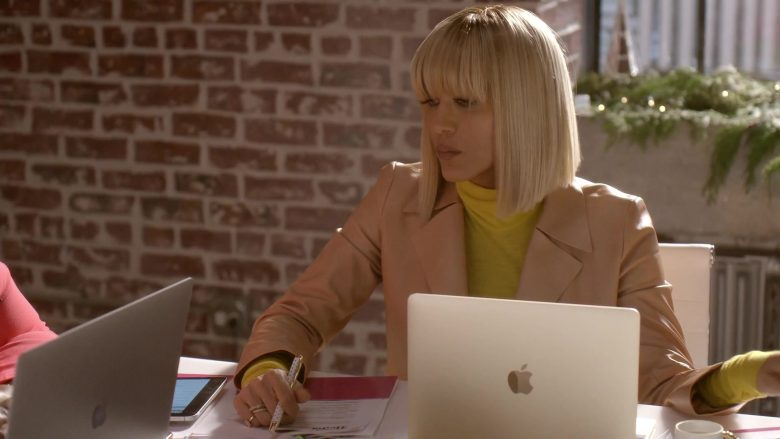 Apple MacBook Laptop Used by Nicole Ari Parker as Giselle Sims-Barker in Empire Season 6 Episode 10 Cold Cold Man (2)