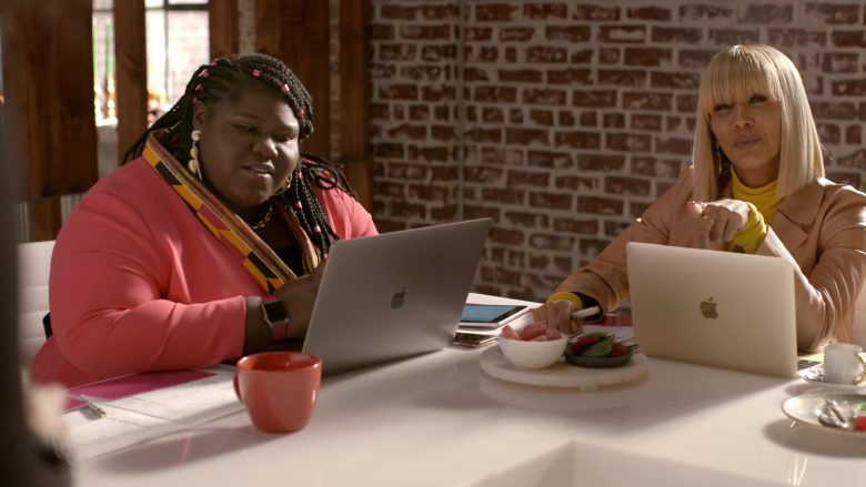 Apple MacBook Laptop Used by Nicole Ari Parker as Giselle Sims-Barker in Empire Season 6 Episode 10 Cold Cold Man (3)