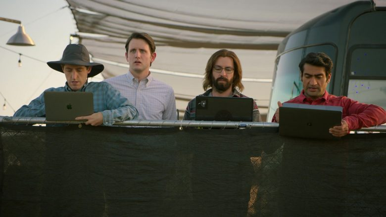 "Apple MacBook Laptop Used by Thomas Middleditch as Richard Hendricks in Silicon Valley Season 6 Episode 6 ""RussFest"" (2019) - TV Show Product Placement"