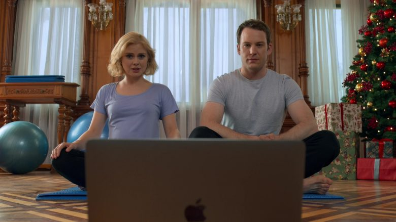 Apple MacBook Pro Laptop Used by Rose McIver & Ben Lamb in A Christmas Prince The Royal Baby (1)