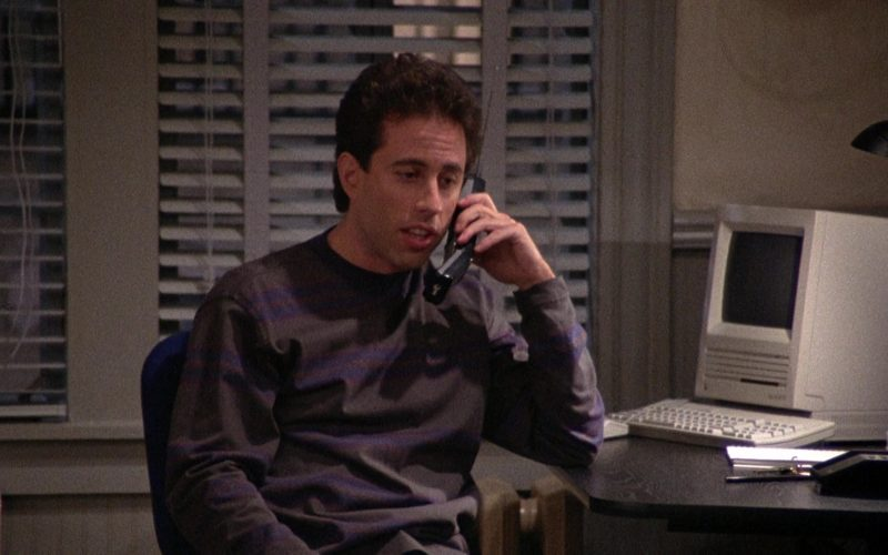 Apple Macintosh Computer Used by Jerry Seinfeld in Seinfeld Season 2 Episode 12