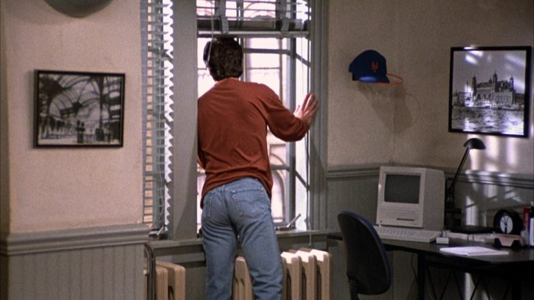 Apple Macintosh Computer Used by Jerry Seinfeld in Seinfeld Season 2 Episode 2