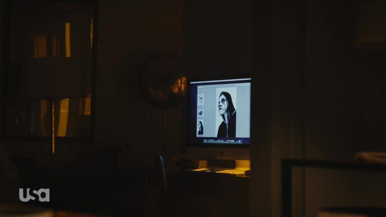 Apple iMac All-In-One Computer Used by Rami Malek as Elliot Alderson in Mr. Robot Season 4 Episode 12 Series Finale Part 1 (2)