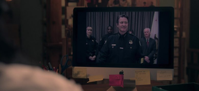 Apple iMac Computer Used by Octavia Spencer as Poppy Scoville-Parnell in Truth Be Told Season 1 Episode 3 (3)