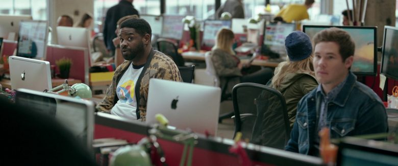 Apple iMac Computer Used by Ron Funches in Jexi