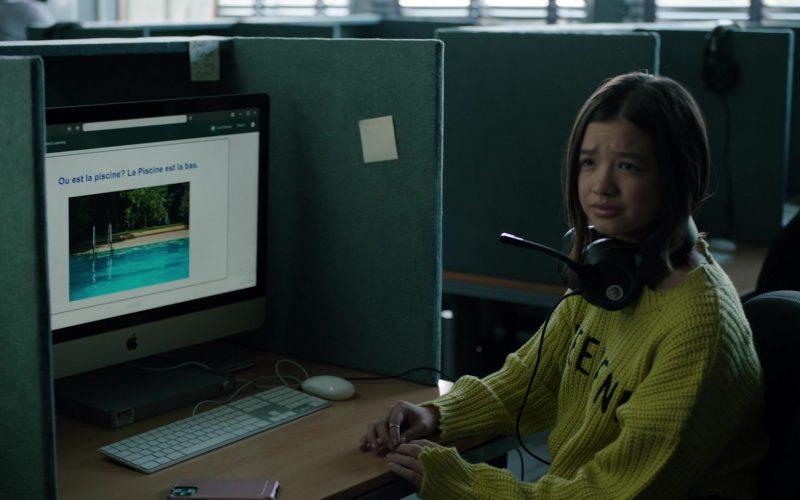 Apple iMac Computer in Stumptown Season 1 Episode 9 Dex Education (2)