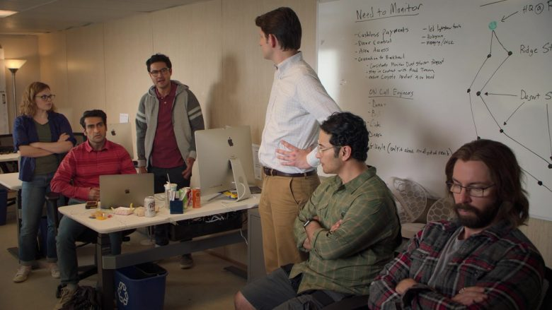 "Apple iMac, MacBook and Diet Dr Pepper in Silicon Valley Season 6 Episode 6 ""RussFest"" (2019) - TV Show Product Placement"