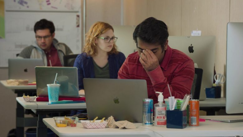 "Apple iMac, MacBook and Red Bull in Silicon Valley Season 6 Episode 6 ""RussFest"" (2019) - TV Show Product Placement"