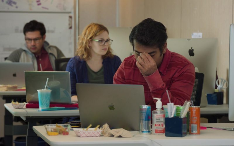 Apple iMac, MacBook and Red Bull in Silicon Valley Season 6 Episode 6 RussFest (1)