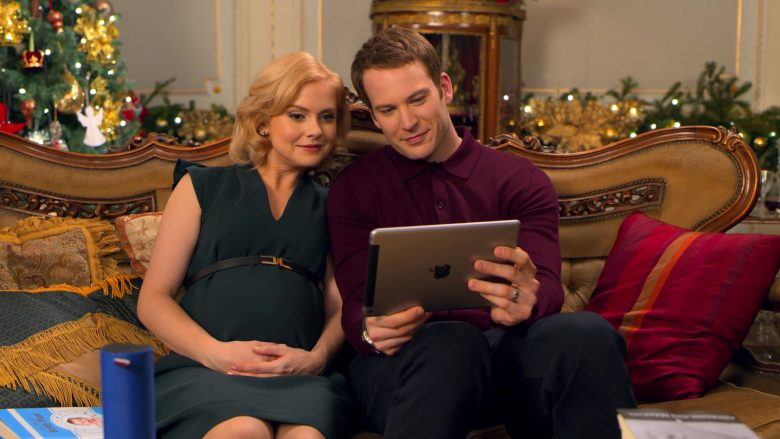 Apple iPad Tablet Used by Rose McIver & Ben Lamb in A Christmas Prince The Royal Baby (1)