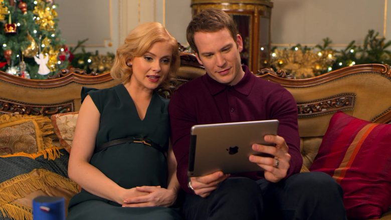 Apple iPad Tablet Used by Rose McIver & Ben Lamb in A Christmas Prince The Royal Baby (2)