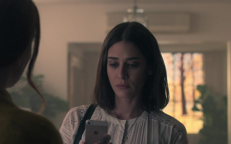 Apple iPhone Mobile Phone in Truth Be Told Season 1 Episode 6 No Buried, Planted