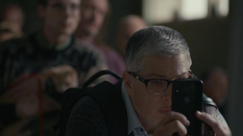 Apple iPhone Used by Abby McEnany in Work in Progress Season 1 Episode 2