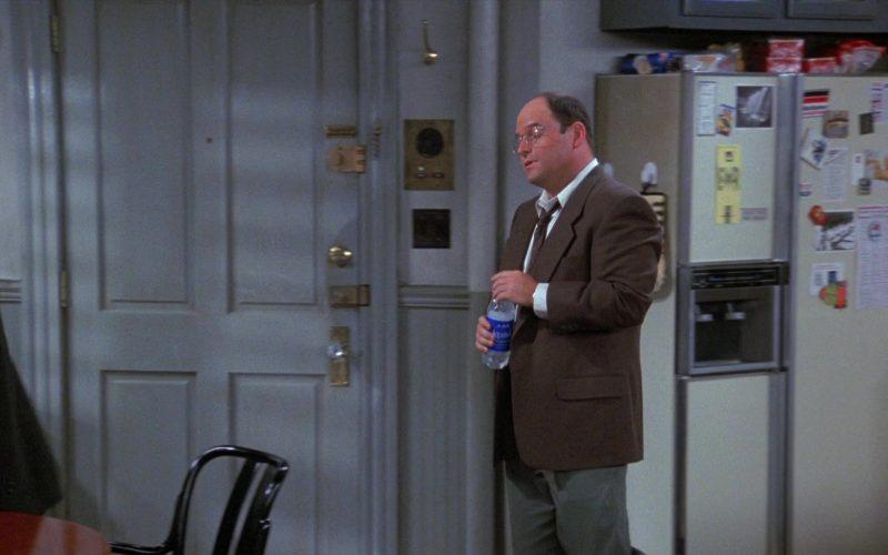 Aquafina Water Enjoyed by Jason Alexander as George Costanza in Seinfeld Season 8 Episode 1 (1)