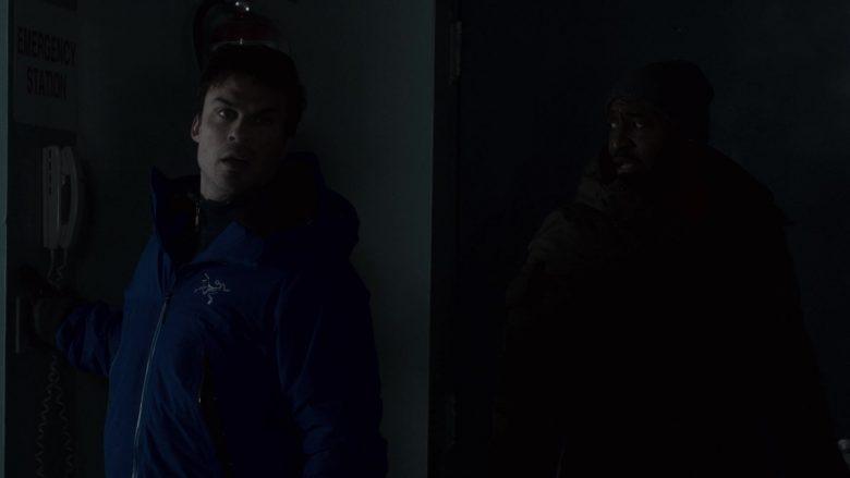 Arc'teryx Jacket Worn by Ian Somerhalder as Dr. Luther Swann in V Wars Season 1 Episode 1 (2)