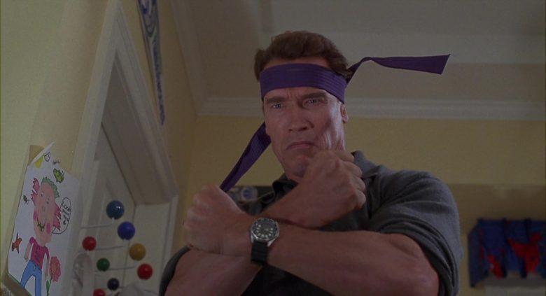 Armitron Diver Wrist Watch Worn by Arnold Schwarzenegger in Jingle All the Way (1996)