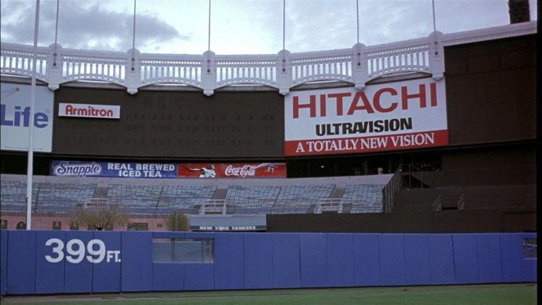 Armitron, Snapple, Coca-Cola, Hitachi in Seinfeld Season 8 Episode 9 The Abstinence