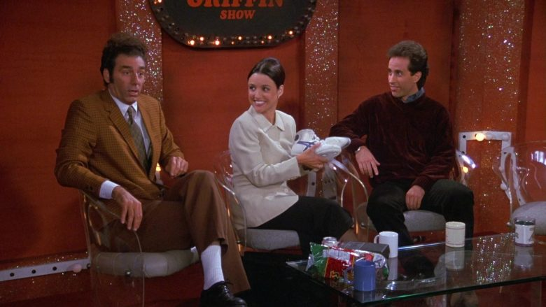 Asics Shoes Held by Julia Louis-Dreyfus as Elaine Benes in Seinfeld Season 9 Episode 6 The Merv Griffin Show (2)