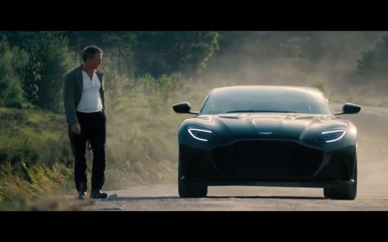 Aston Martin DBS Superleggera Sports Car in No Time to Die