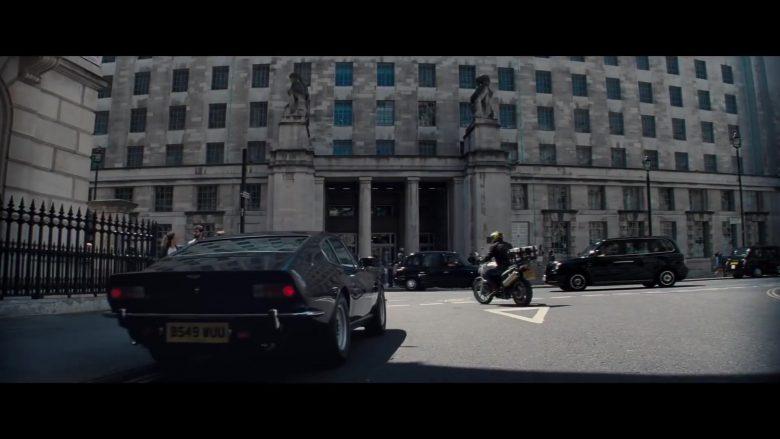 Aston Martin V8 Vantage Car in No Time to Die