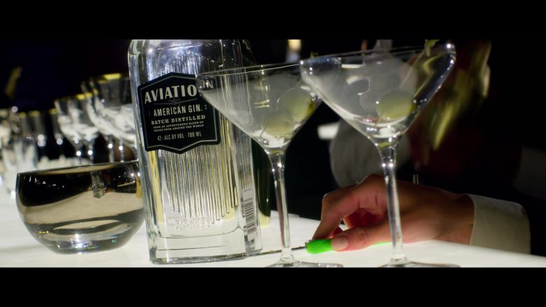 Aviation American Gin Enjoyed by Ryan Reynolds in 6 Underground (1)
