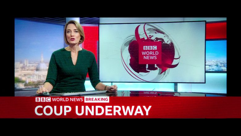 BBC TV Channel in 6 Underground (2019)