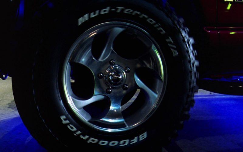BFGoodrich Car Tires in 2 Fast 2 Furious