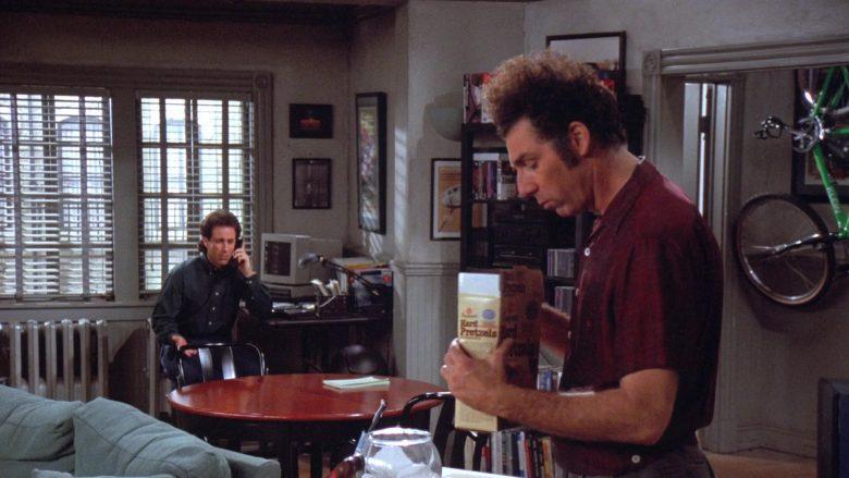 Bachman Hard Pretzels Enjoyed by Michael Richards as Cosmo Kramer in Seinfeld Season 7 Episode 13 (2)
