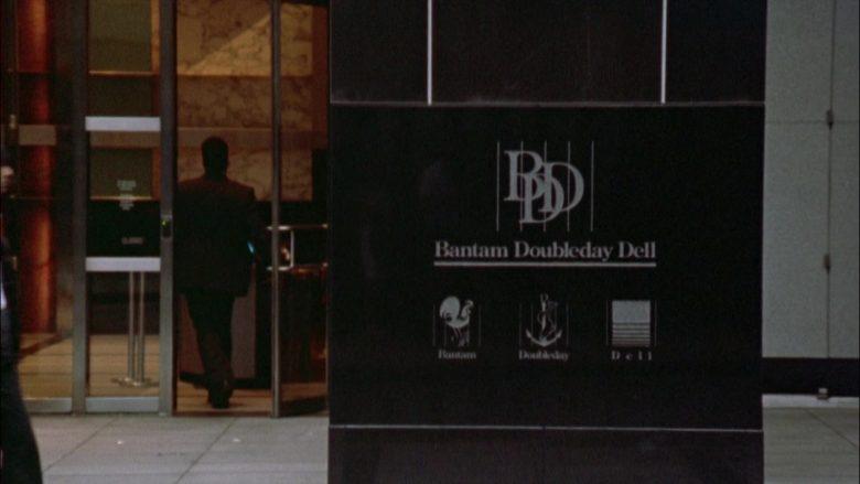 Bantam Doubleday Dell Publishing Group in Seinfeld Season 6 Episode 1 The Chaperone (1)