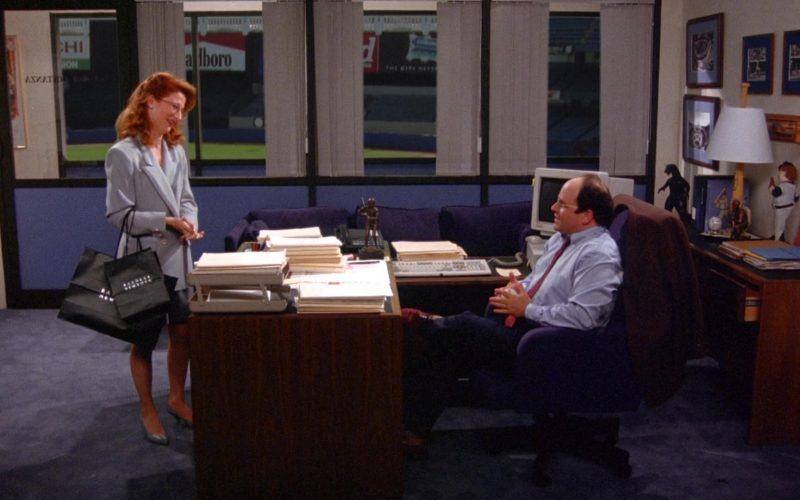 Barneys Store Paper Bags in Seinfeld Season 6 Episode 9 The Secretary