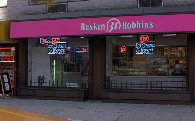 Baskin-Robbins Ice Cream Shop in Seinfeld Season 9 Episode 9 The Apology (1)