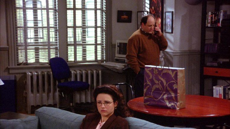Bergdorf Goodman Store Paper Bag in Seinfeld Season 6 Episode 10 The Race