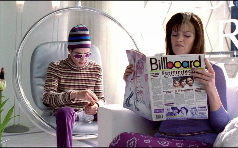 Billboard Magazine Held by Missi Pyle in Josie and the Pussycats