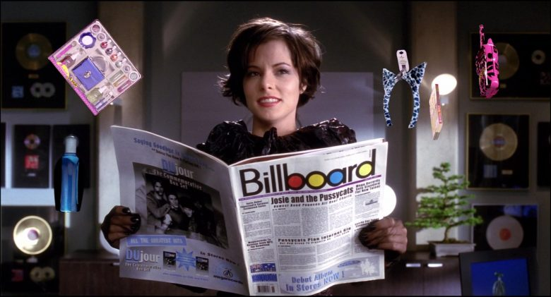 Billboard Magazine Held by Rachael Leigh Cook in Josie and the Pussycats (2)