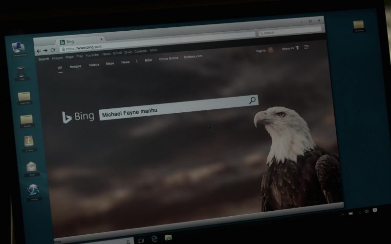 Bing WEB Search Engine in V Wars Season 1 Episode 3 (1)