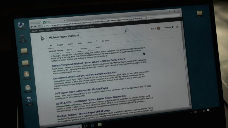Bing WEB Search Engine in V Wars Season 1 Episode 3 (3)