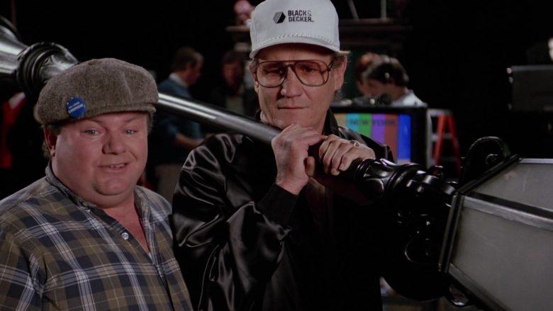 Black & Decker Cap in Scrooged (1988)