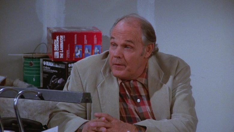 Black&Decker and Smith Corona The Laminator in Seinfeld Season 7 Episode 7
