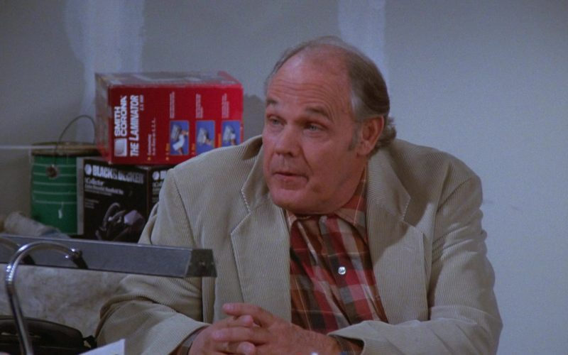 Black&Decker and Smith Corona The Laminator in Seinfeld Season 7 Episode 7