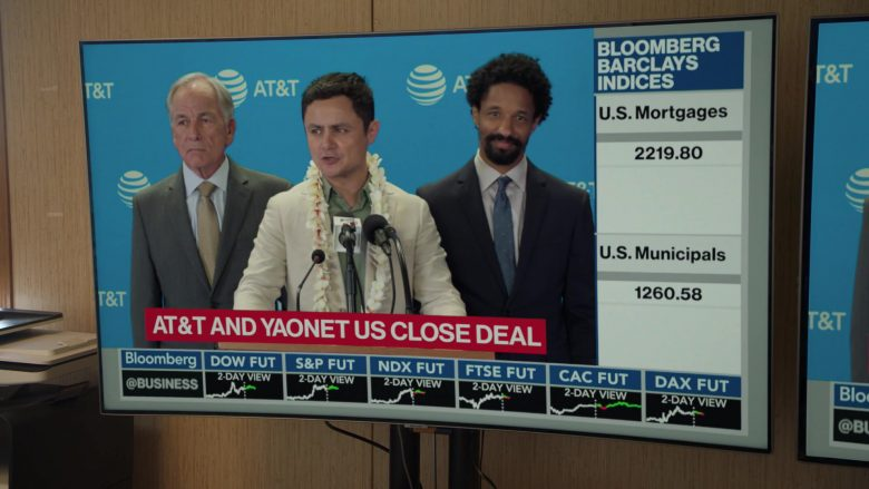 """Bloomberg TV Channel and AT&T in Silicon Valley Season 6 Episode 6 """"RussFest"""" (2019) - TV Show Product Placement"""